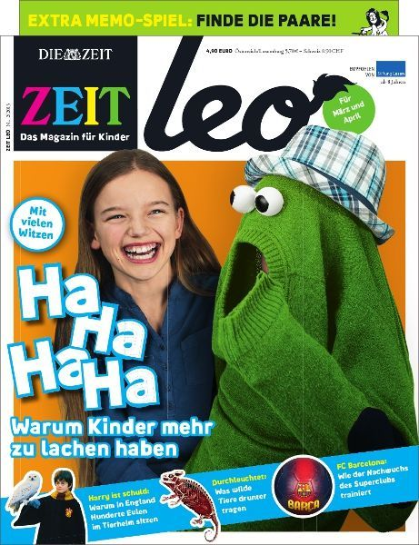 ZEIT LEO 2/13 Ha Ha Ha Ha