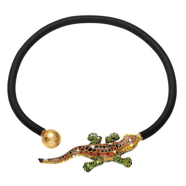 Anna Mütz: Collier »Salamander«