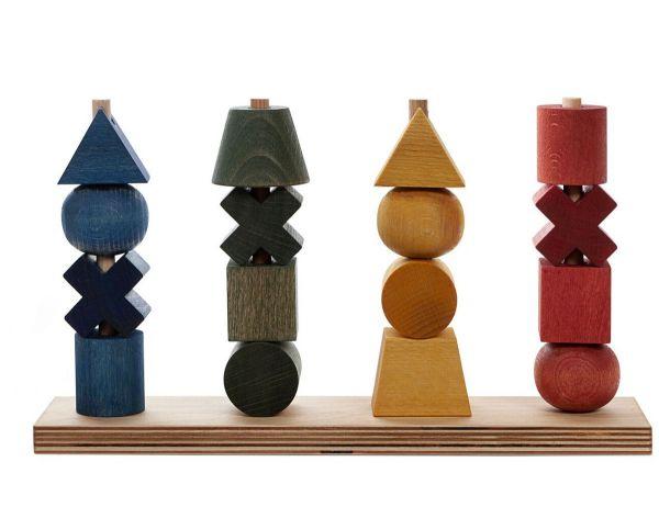 Regenbogen Steckspielzeug - 26 Teile