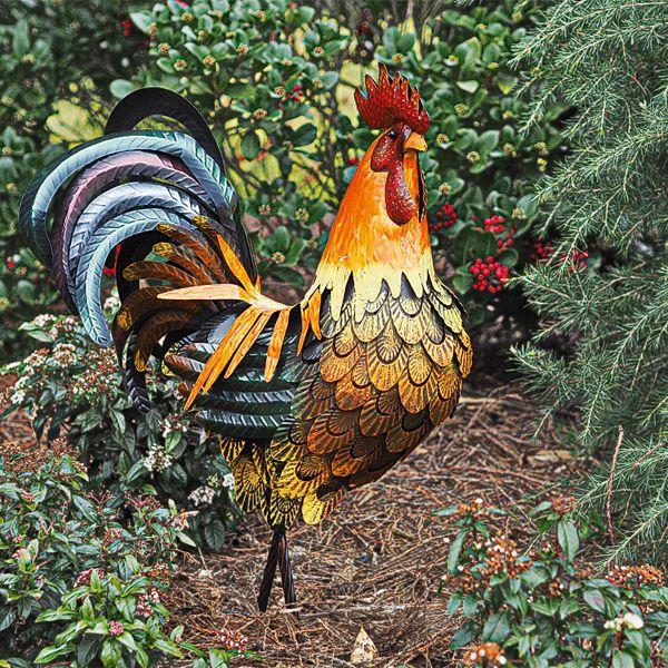 Gartenfigur »Hahn«