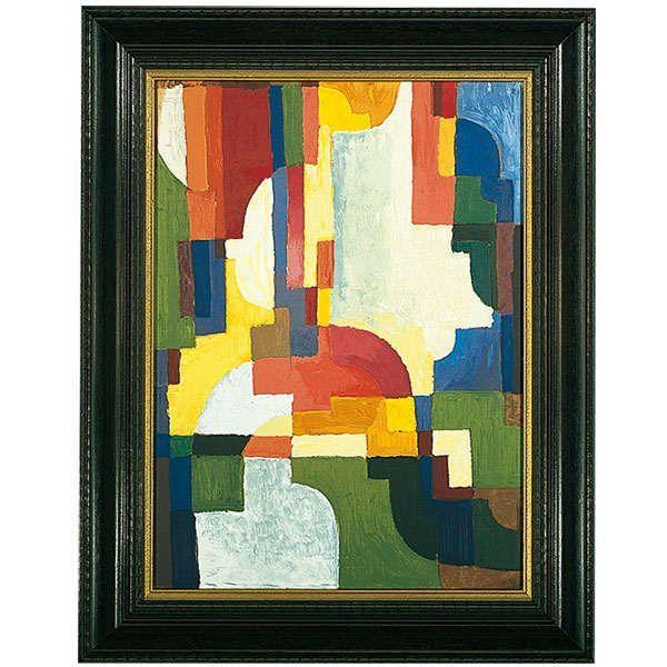 Macke, August: »Farbige Formen I«, 1913