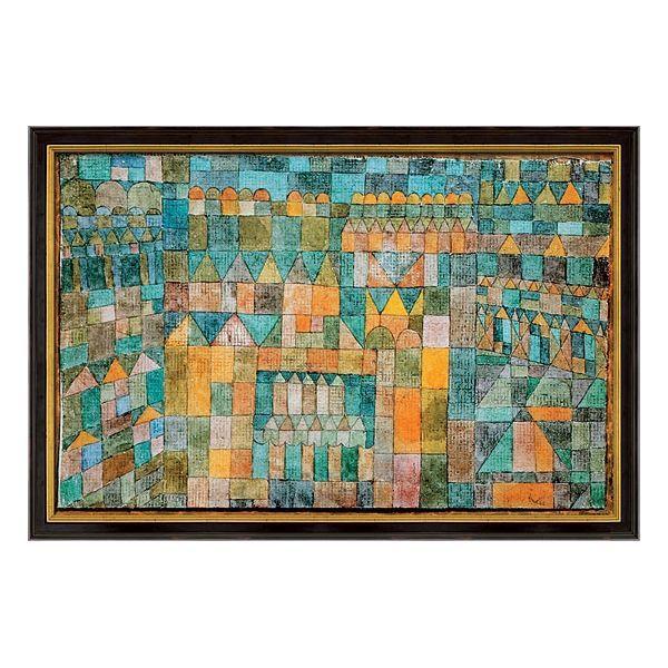 Klee, Paul: »Tempelviertel von Pert«, 1928