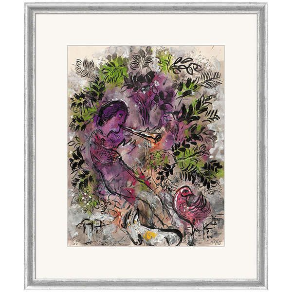 Chagall, Marc: »Der Junge in den Blumen«, 1955