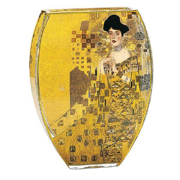 Klimt, Gustav: Glasvase »Adele Bloch-Bauer«