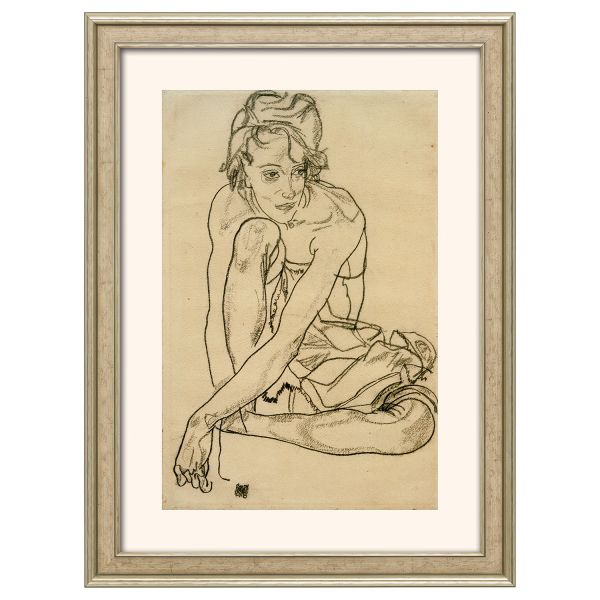 Schiele, Egon: »Kauernde«, 1918