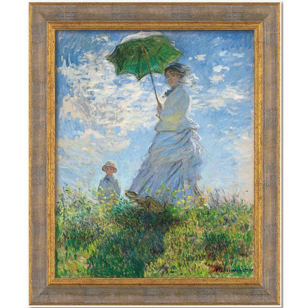 Monet, Claude: »Frau mit Sonnenschirm«