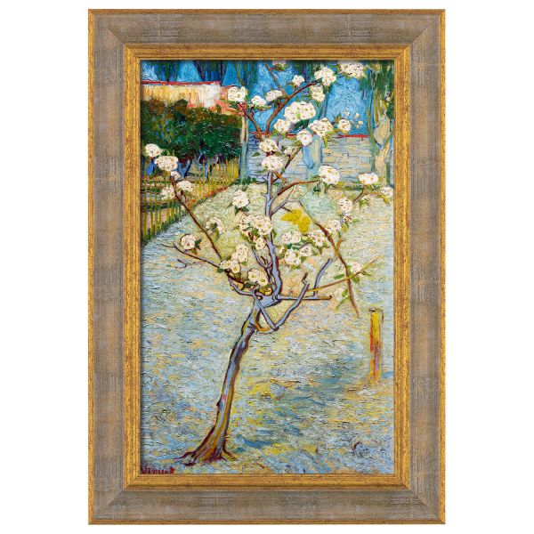 van Gogh, Vincent: »Birnenbaum in Blüte«, Arles 1888