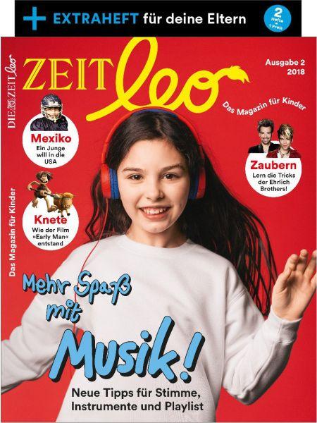 ZEIT LEO 2/18 Mehr Spaß mit Musik!