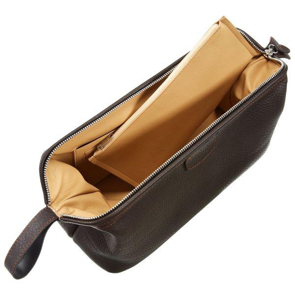 Herren-Kulturtasche aus Hirschleder