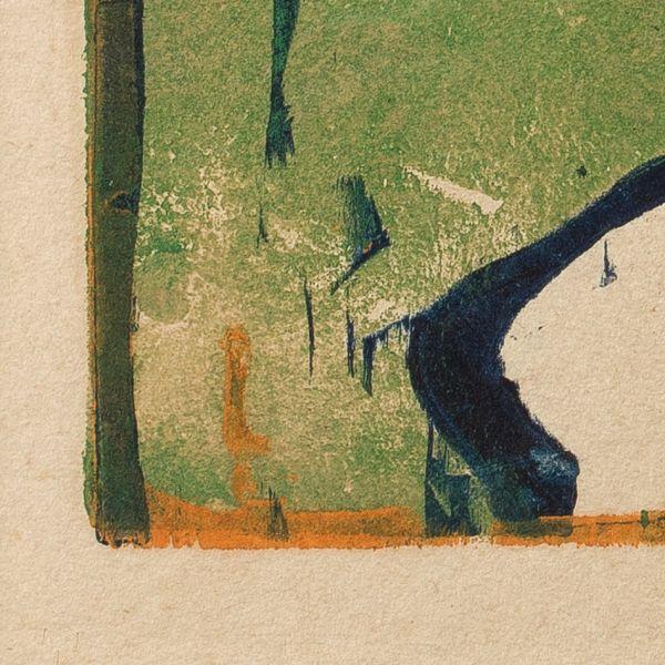Ernst Ludwig Kirchner: »Segelboot«, 1910