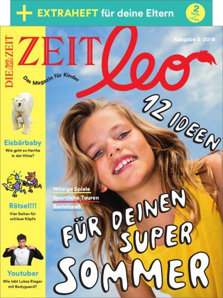 ZEIT LEO 5/19 Ideen für deinen super Sommer