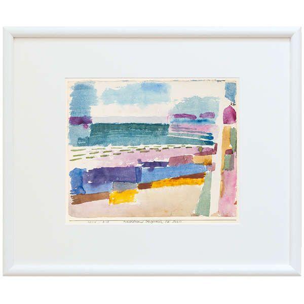 Klee, Paul: »Badestrand bei St. Germain in Tunis«, 1914