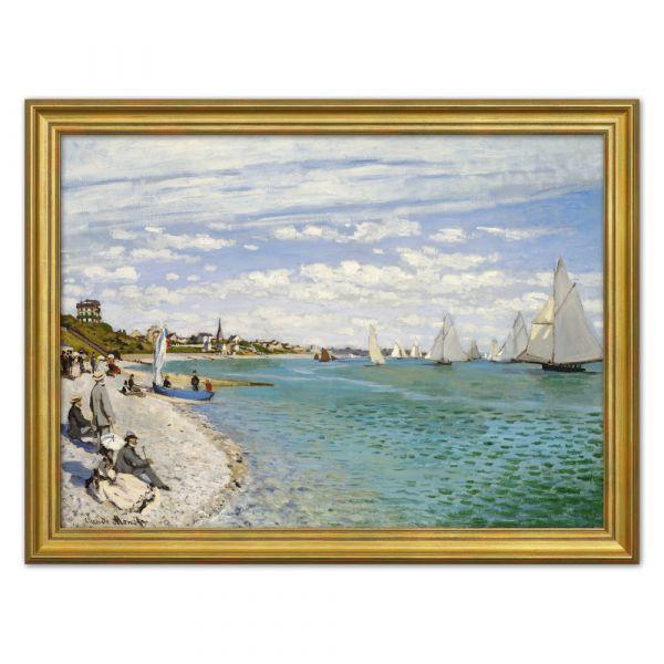 Monet, Claude: »Regatta in Sainte-Adresse«, 1867