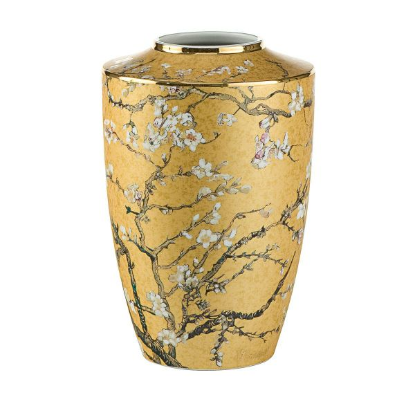 Porzellanvase »Blühende Mandelbaumzweige«, nach Vincent van Gogh