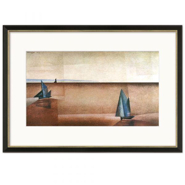 Feininger, Lyonel: »Regenklarheit«, 1918