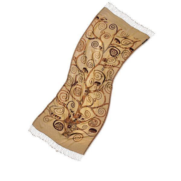 Schal »Lebensbaum«, nach Gustav Klimt