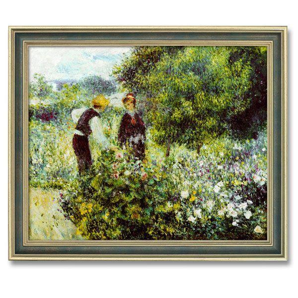 Renoir, Auguste: »Beim Blumenpflücken«