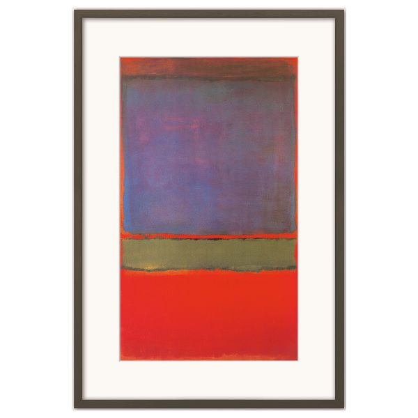 Rothko, Mark: »No. 6 (Violet, Green, & Red)«, 1951