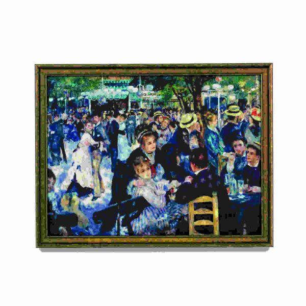 Renoir, Auguste: »Ball im Moulin de la Galette«, 1876