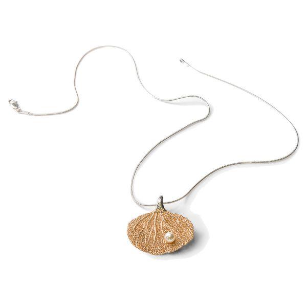 Collier »Fächerkoralle mit Perle«