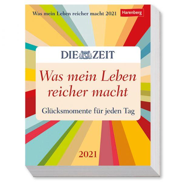Kalender 2021 »Was mein Leben reicher macht«