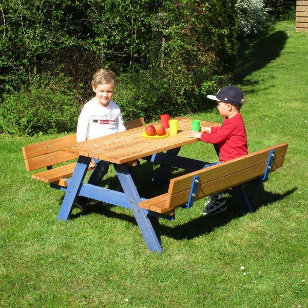 Kinderpicknick-Sitzgruppe