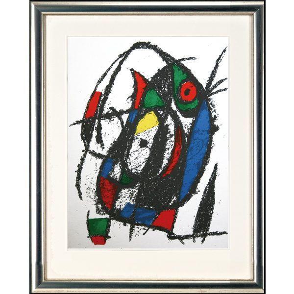 Miró, Joan: »O.T. (Motiv: Katze IV)«, 1975
