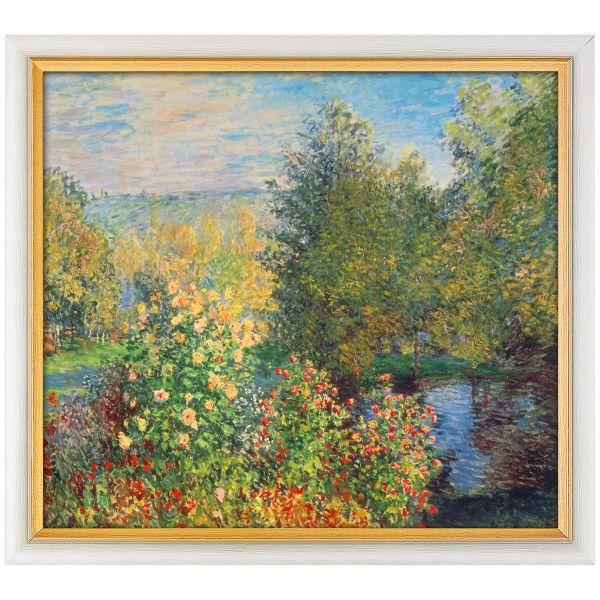 Monet, Claude: »Stiller Winkel im Garten von Montgeron«, 1876