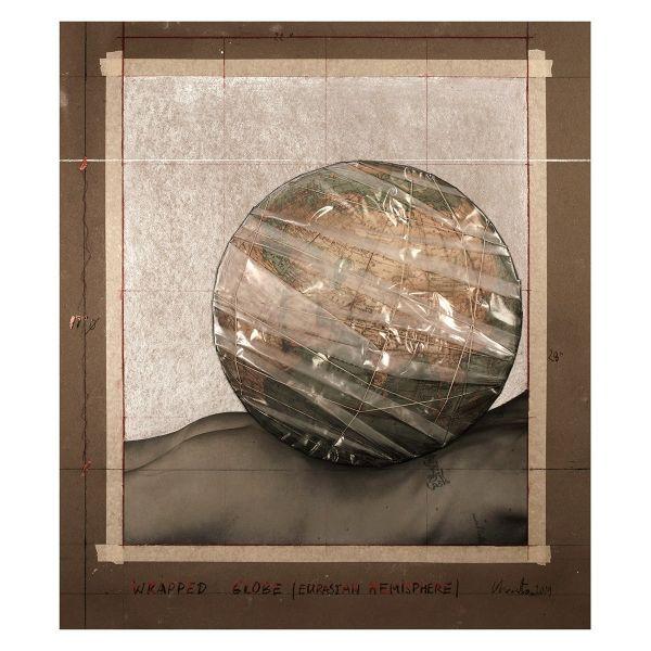Christo »Wrapped Globe« ZEIT-Sonderedition