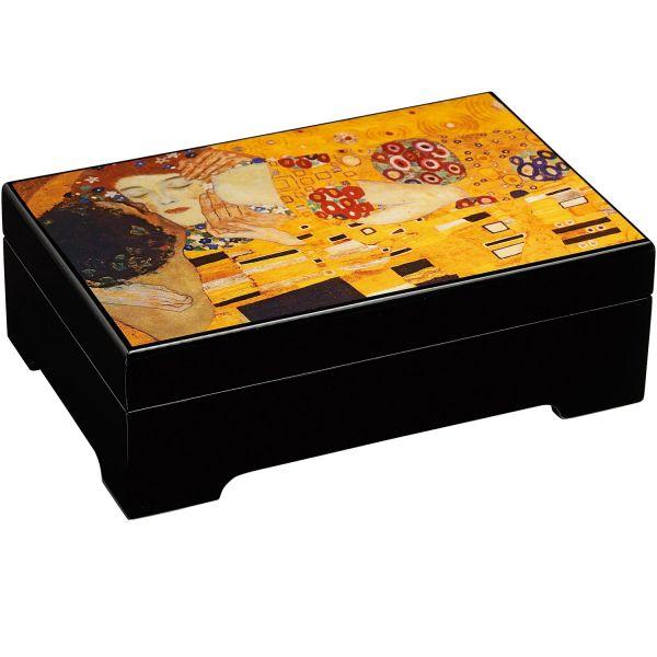 Musik-Schmuckbox »Der Kuss« nach Gustav Klimt