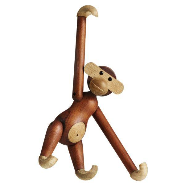 Holzfigur »Affe« von Kay Bojesen klein
