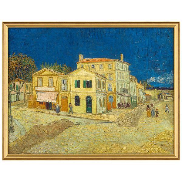 van Gogh, Vincent: »Das gelbe Haus«, 1888