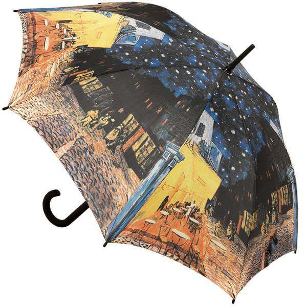 Stockschirm »Café bei Nacht«, nach Vincent van Gogh