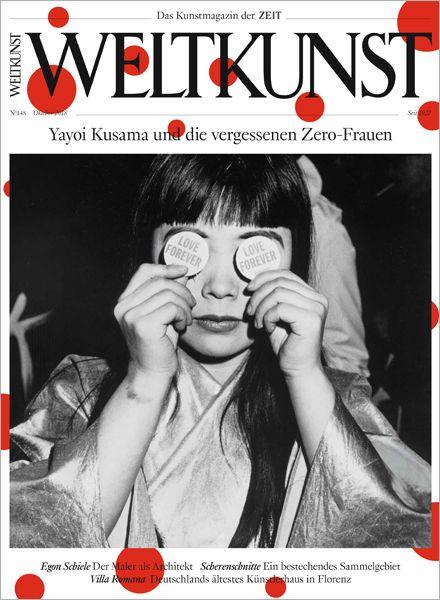 WELTKUNST 148/18 Yayoi Kusama und die vergessenen Zero-Frauen