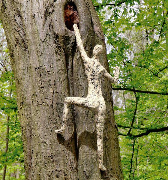 Wilting, Norbert: Gartenskulptur »Baumwächter II«