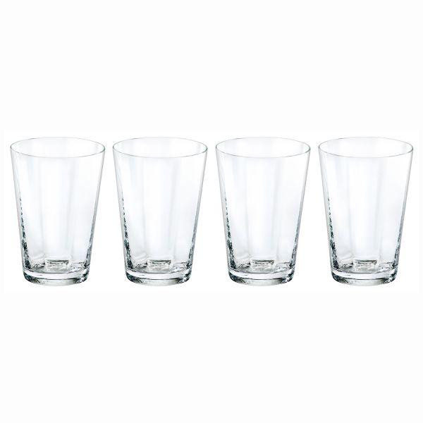 ZEIT-Glasserie von Freiherr von Poschinger Glasmanufaktur, 16-teilig Wassergläser für DIE ZEIT, 4-teilig