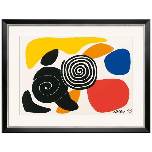 Calder, Alexander: »Spirals and Petals«, 1969