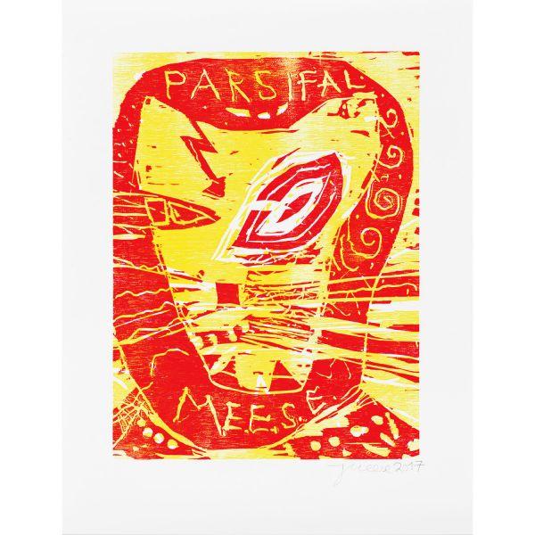 Jonathan Meese: »Parsifalmeese« (That´s the Look of Love), 2017