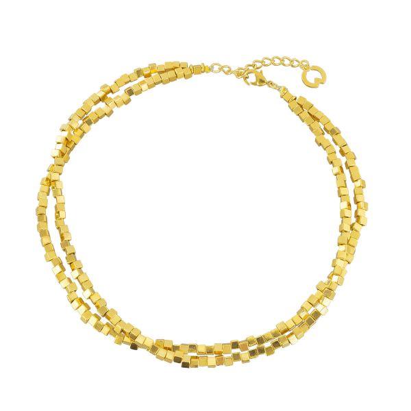 Collier »Quadrados de Oro«
