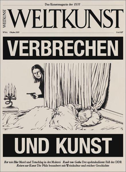WELTKUNST 176/20: Verbrechen und Kunst