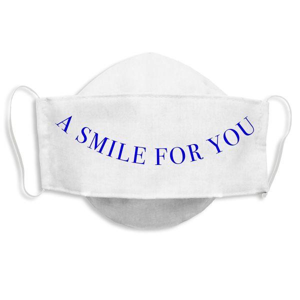 Weltkunstwelt-Maske »A Smile for you« von Jeppe Hein