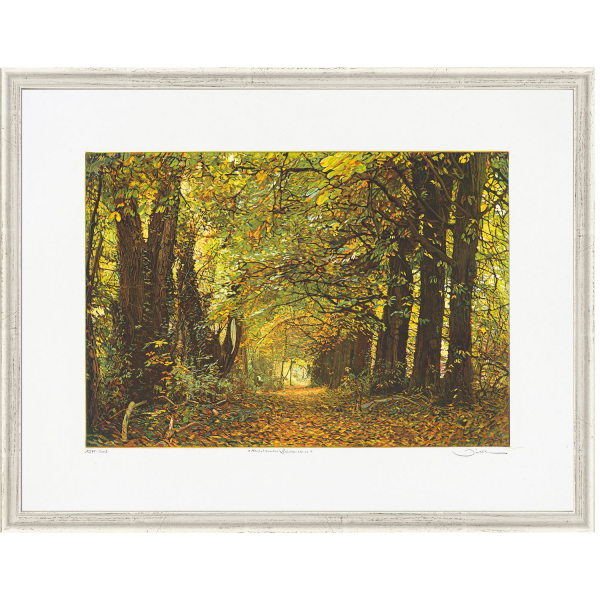 Herrmann, Günther: »Herbstwald-Biedensand«