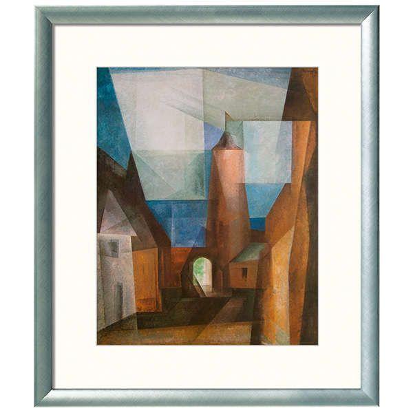 Feininger, Lyonel: »Der Grützturm in Treptow an der Rega«, 1928
