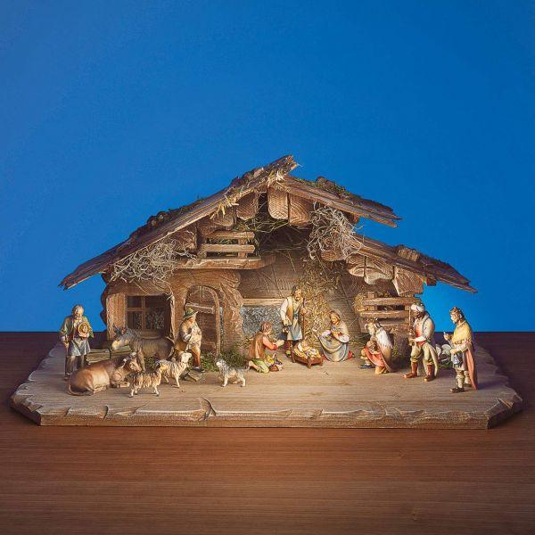 Holzschnitzkunst »Die Ulrich Hirten-Krippe«, 15-teilig