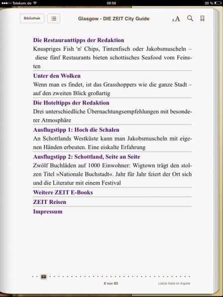 »Glasgow - DIE ZEIT City Guide«