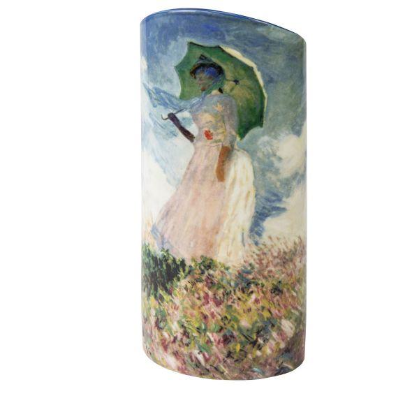 Vase »Frau mit Sonnenschirm«, nach Claude Monet 1886
