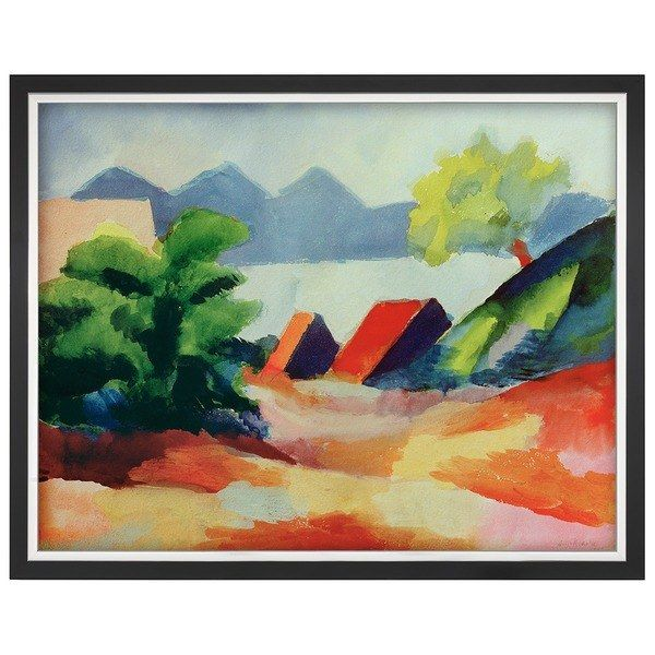 Macke, August: »Am Thuner See I«, 1913