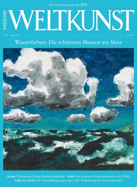 WELTKUNST 132/17 Wasserfarben: Die schönsten Museen am Meer