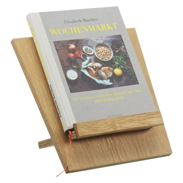 Kochbuch »Wochenmarkt« und Buchständer im Set
