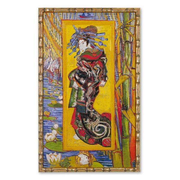 van Gogh, Vincent: »Die Kurtisane«, 1887